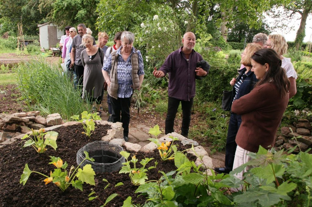 David's Guided Walk around Hellens Manor Gardens